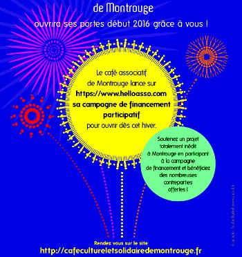 """Le CCS de Montrouge diffuse sa première vidéo à l'occasion d'un """"crowdfunding"""""""